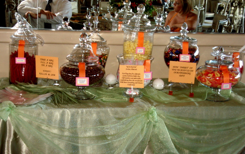 Candy Bar Candy Bars or Candy Tables are becoming more popular as a treat