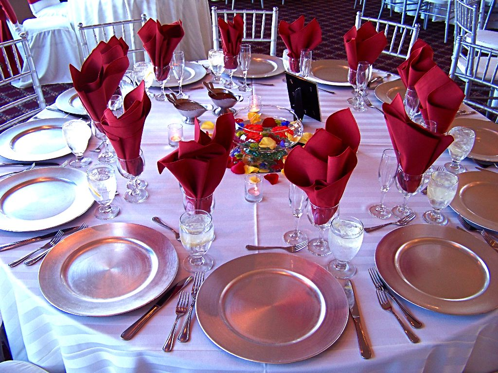 Table Settings For Weddings Reference Wedding Decoration