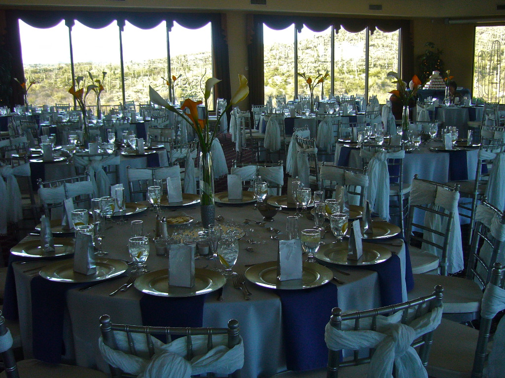 Blue Silver And White Wedding Decorations My Tucson