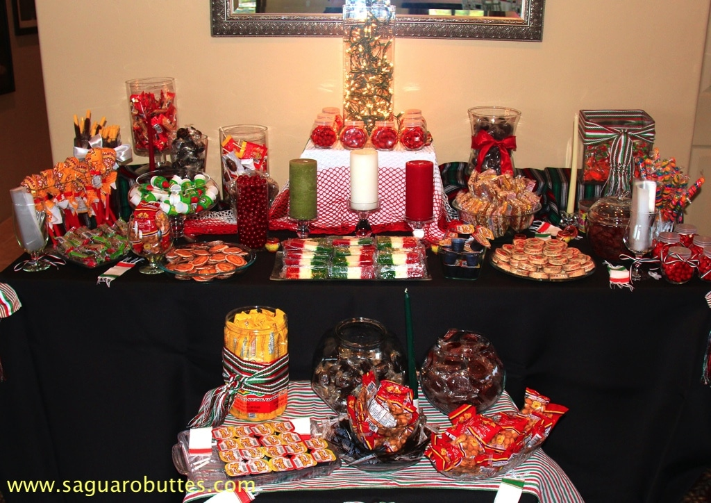 Mexican Candy Table - My Tucson Wedding