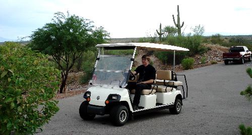 Golf Cart in Tucson