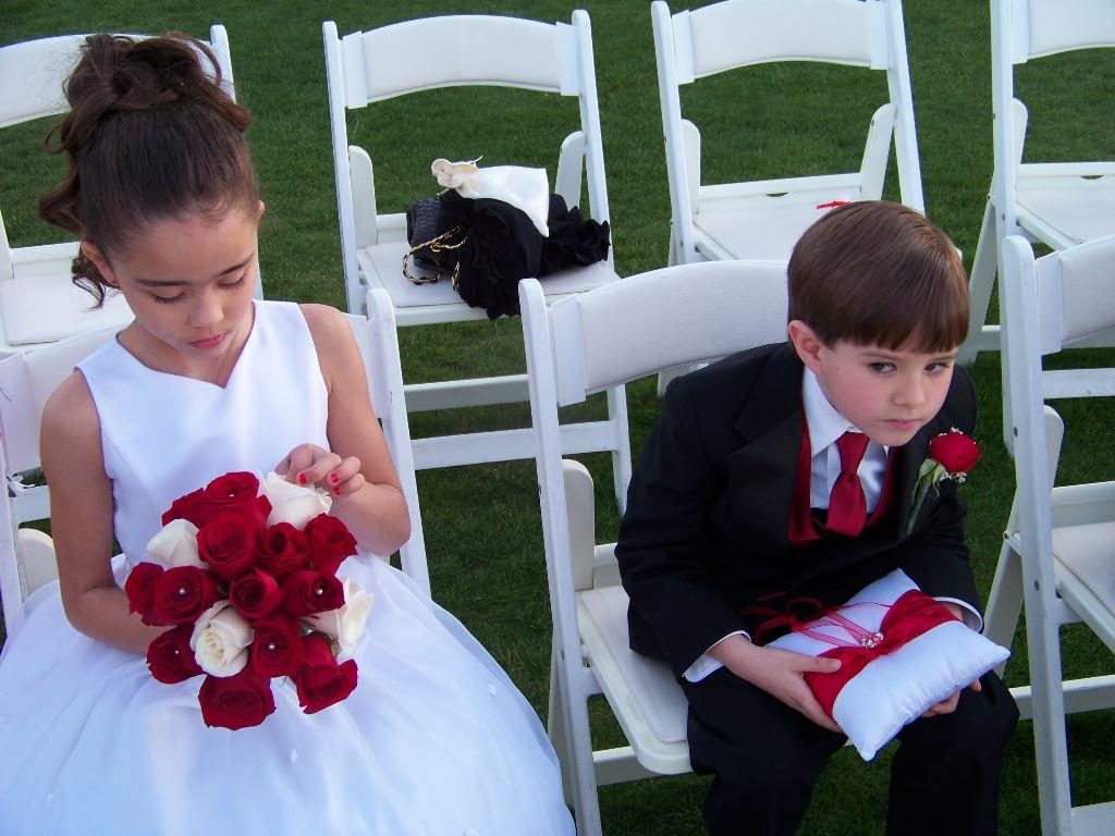 Seating The Ring Bearer And Flower Girl