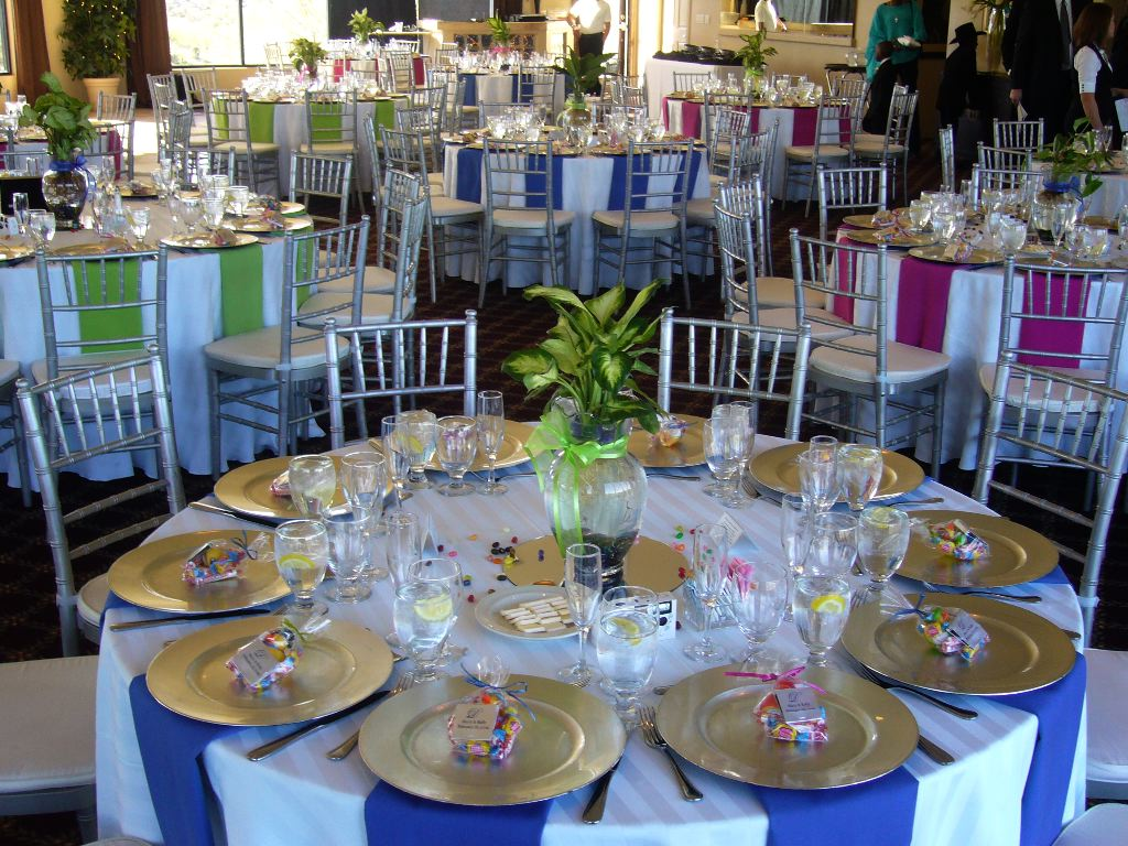Festive Colors For Your Table My Tucson Wedding