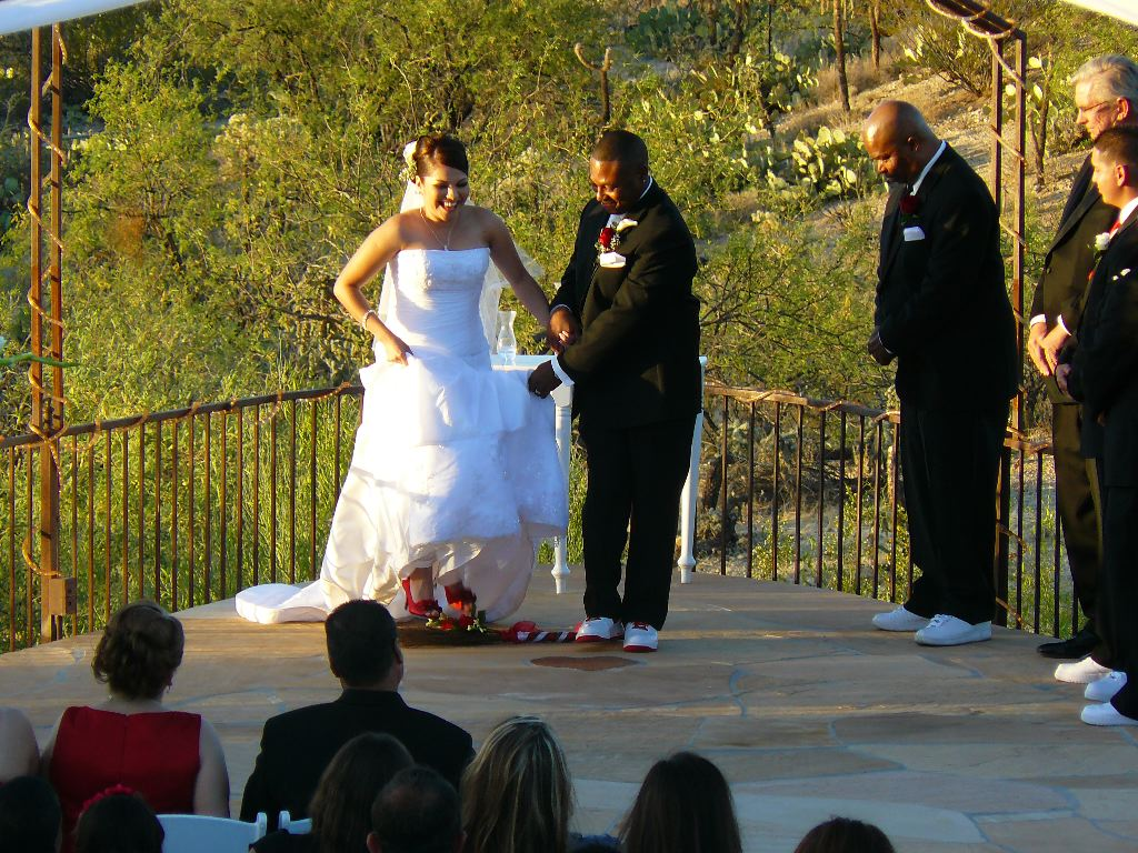 Jumping The Broom My Tucson Wedding