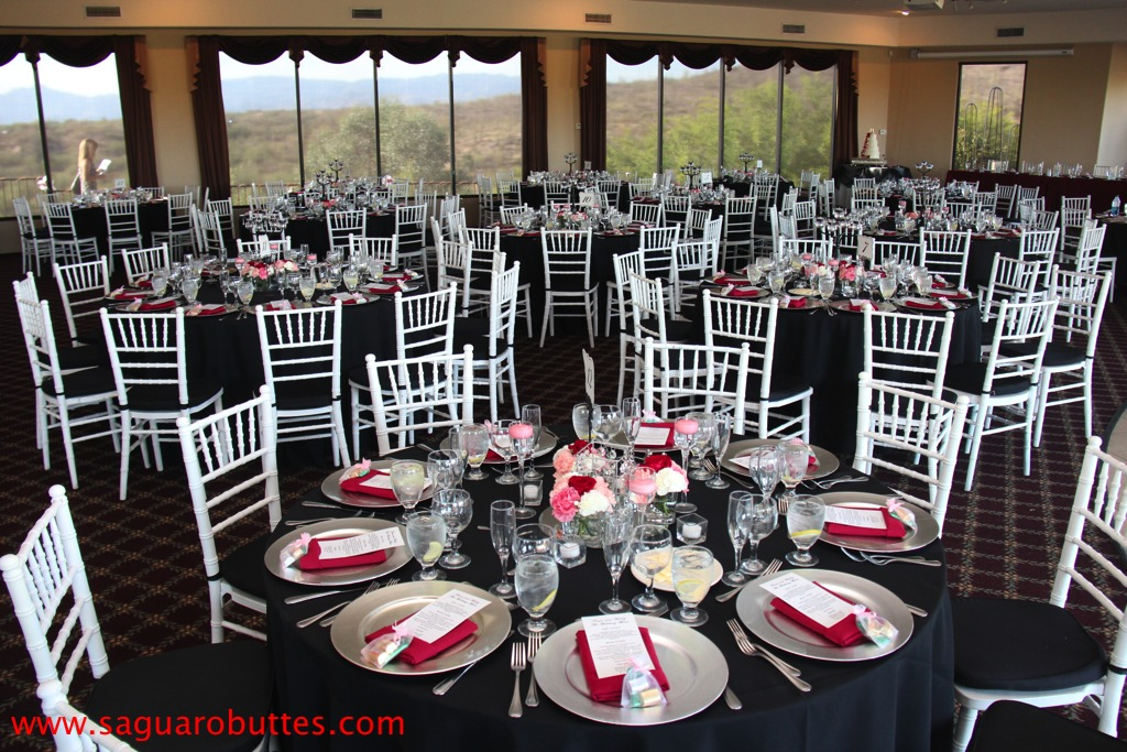 Black White And Red Wedding Colors