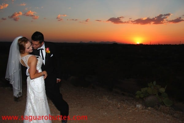 Victoria & Antonio Sunset Photo