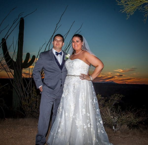 Sarah's Wedding on November 13, 2016 at Saguaro Buttes
